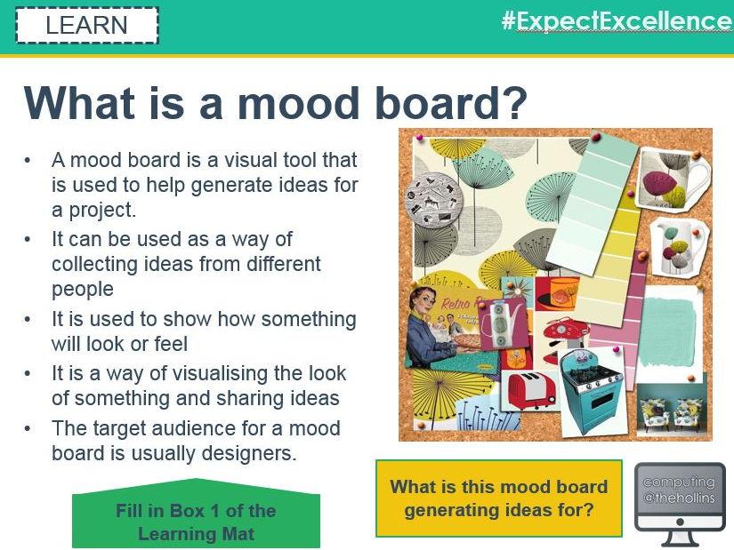 Creative iMedia R081 - Lesson 1 of 2 - Moodboards