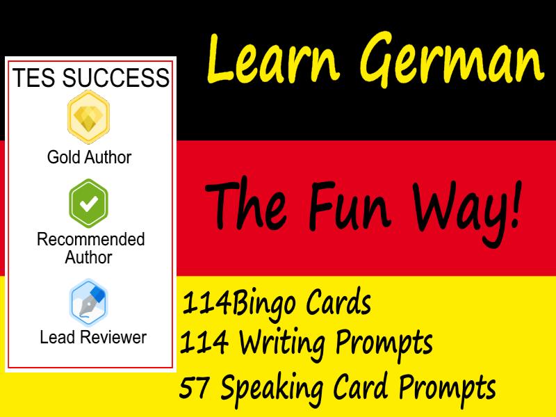 Learning To Speak German The Fun Way! - Bundle