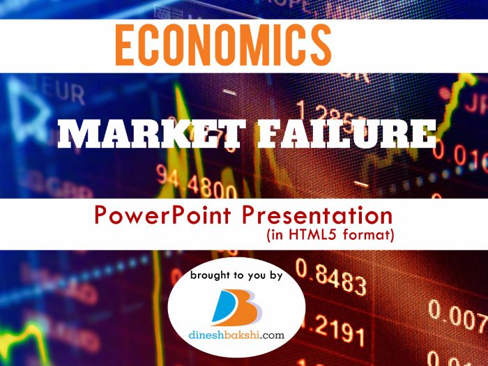 Market Failure - Presentation (IGCSE/ A Levels/ IB Economics)
