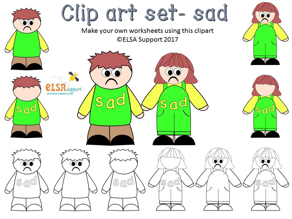 Emotions clipart - Sad