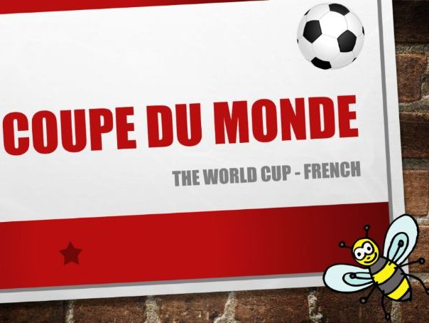 World Cup - French - Guess the flags and get creative!