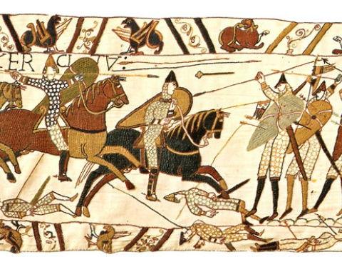 Norman invasion: Interpretation of Battle of Hastings