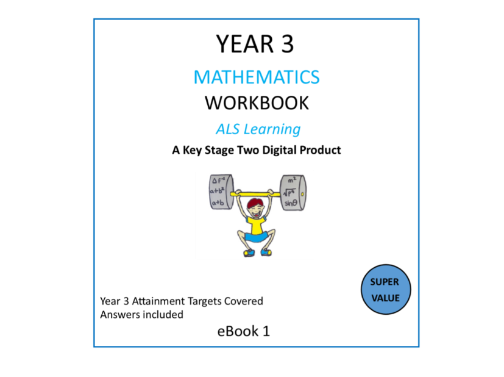 A YEAR 3 MATHS WORKBOOK WITH ANSWERS-141 PAGES