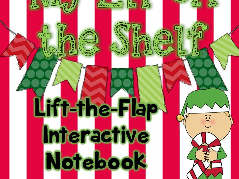 My Elf on the Shelf Lift-the-Flap Interactive Christmas Notebook