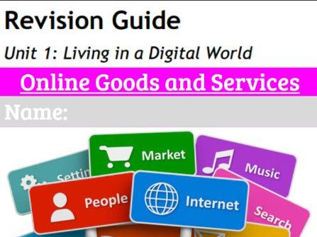 GCSE ICT Revision workbook 4: Online Goods & Services