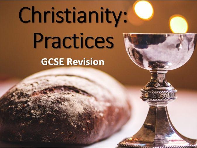 AQA Religious Studies GCSE Christianity: Practices