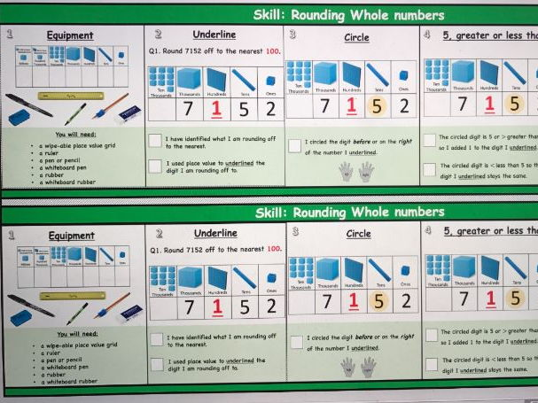 Maths Skill strips-Approximation and Estimation