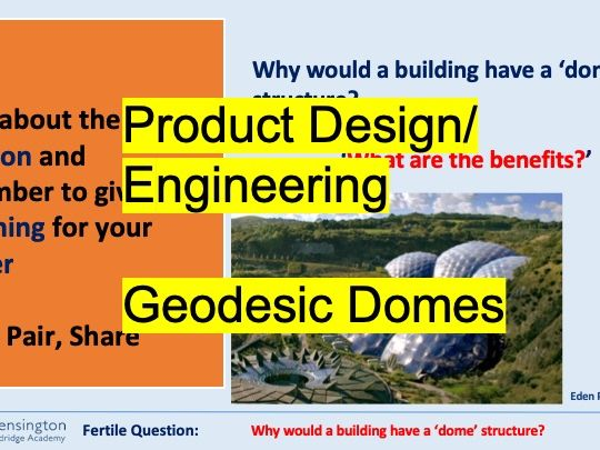 STEM Structures with Geodesic Domes Design and Make
