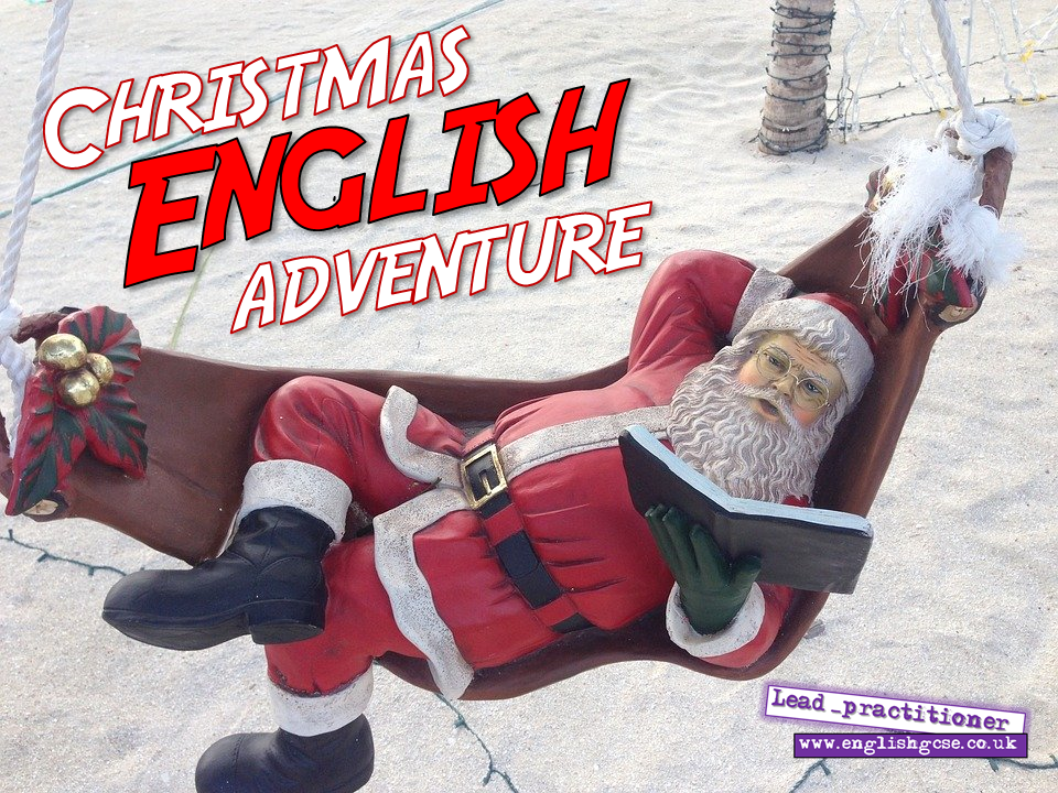 English Christmas Escape Room