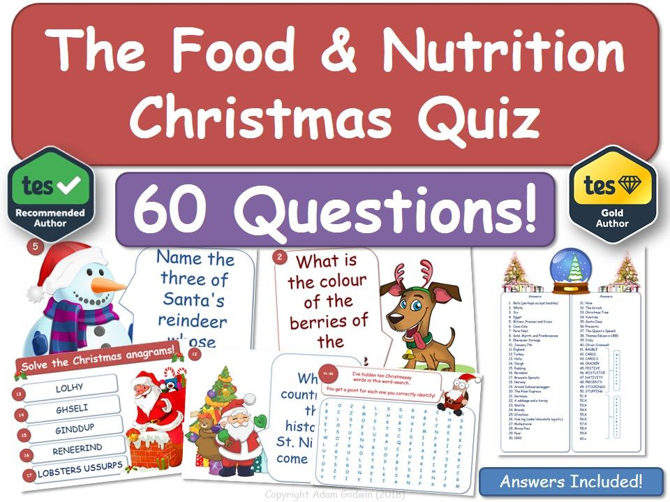 Food & Nutrition Christmas Quiz!