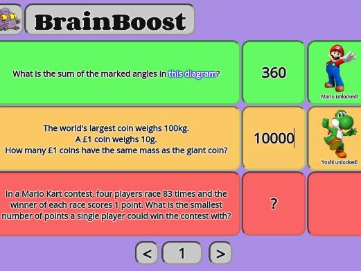 🌟 BrainBoost 🌟 25+ Interactive Problem-Solving Lesson Starters with In-Built Reward System