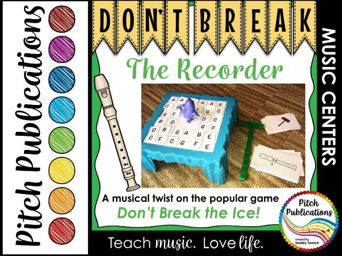 Music Center: Don't Break the Recorder! - Recorder Fingerings Music Game