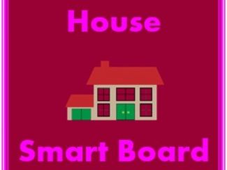 Casa y Mobiliario (House and Furniture in Spanish) Smartboard Activity