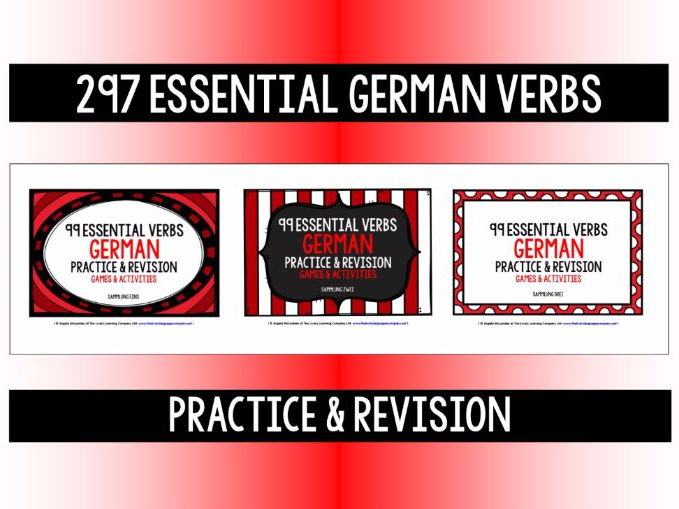 GERMAN VERBS REVISION