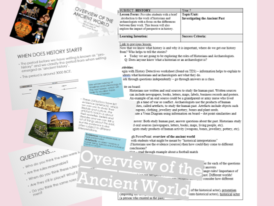 Overview of Ancient World