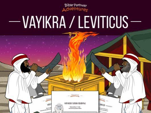 Vayikra   Leviticus: Torah Portion Activity Book