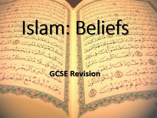 AQA Religious Studies GCSE Islam: Beliefs