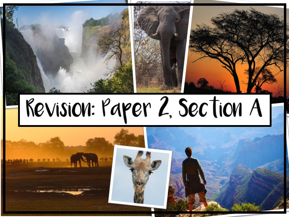 AQA GCSE English Language Paper 2, Section A Revision Lesson - 2