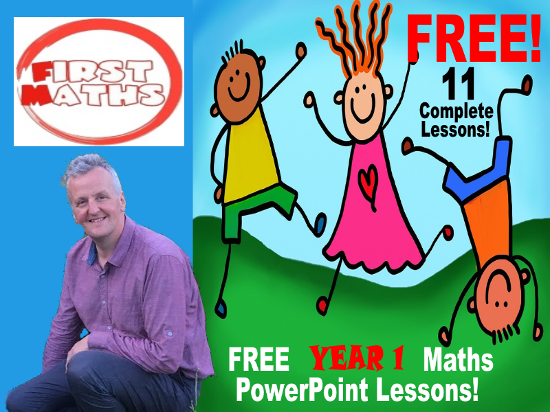FREE Year 1 YouTube Maths PowerPoint Lessons - 11 Lessons for Spring And Autumn Term