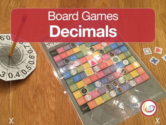Decimal Snakes and Ladders