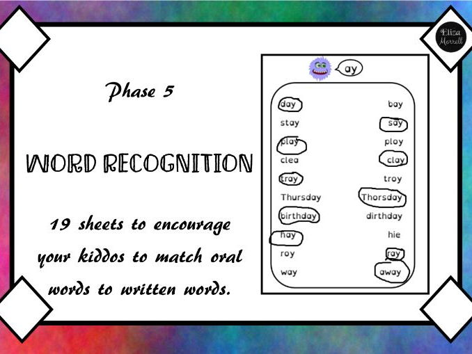 Phase 5 Phonics Word Recognition