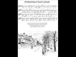 GEIRIAU HEN FENYW FACH CIDWELI LYRICS FOR WELSH TRADITIONAL SONG FOR CHILDREN