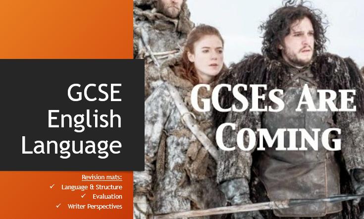 GCSE English Language Revision Mats