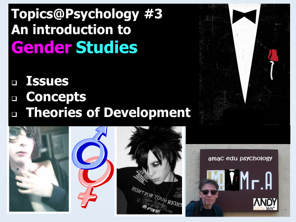 Topics@Psychology#3 An Introduction to Gender Studies (all exam boards)