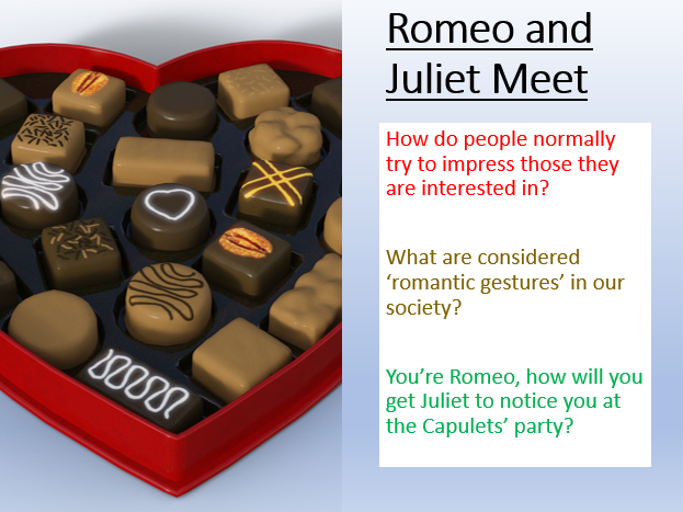 Romeo and Juliet - Romeo and Juliet Meet
