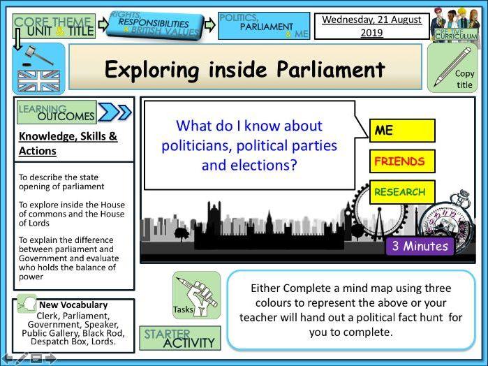 PP Exploring Inside Parliament