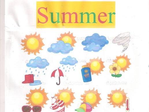 Summer Vocabularies