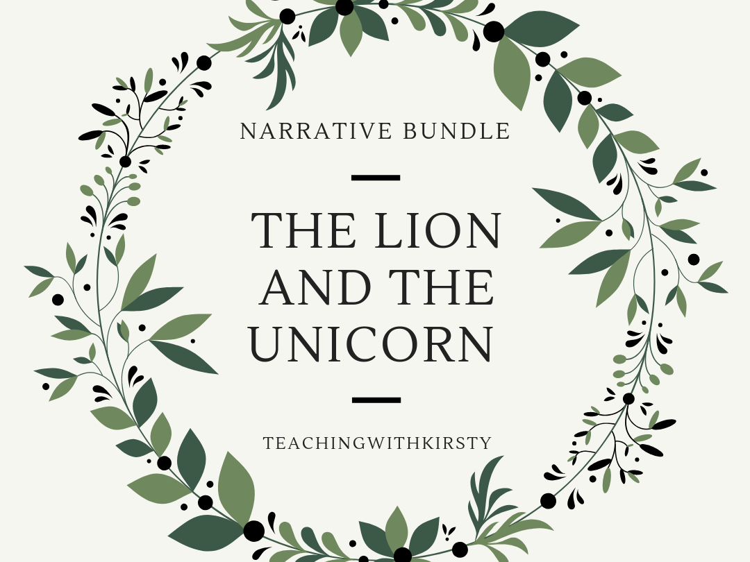 The Lion and the Unicorn Narrative 3 Weeks