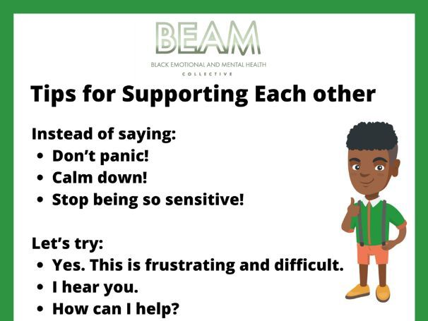 Supportive tips