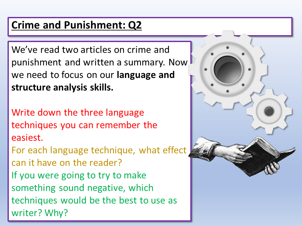 Eduqas English Language Component 2 Q2