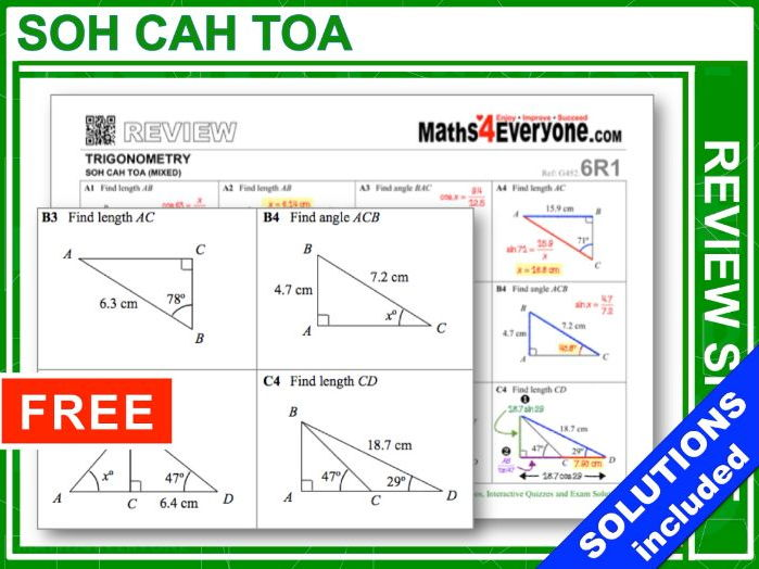 Trigonometry (GCSE Topic Review)
