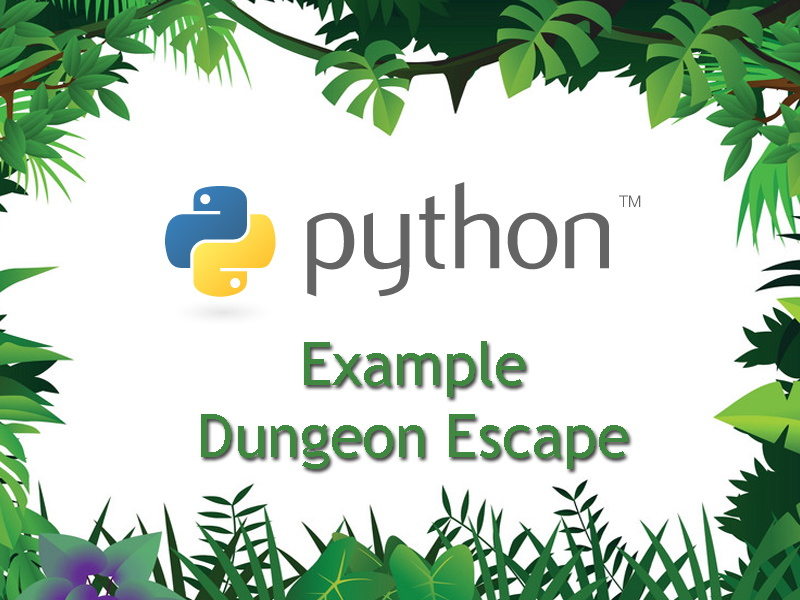 Intermediate Python Programming – Dungeon Escape