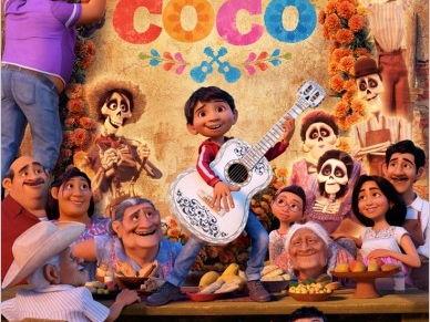 Movie Coco Quiz Comprehension, Coloring pages and Pan de Muerto  recipe