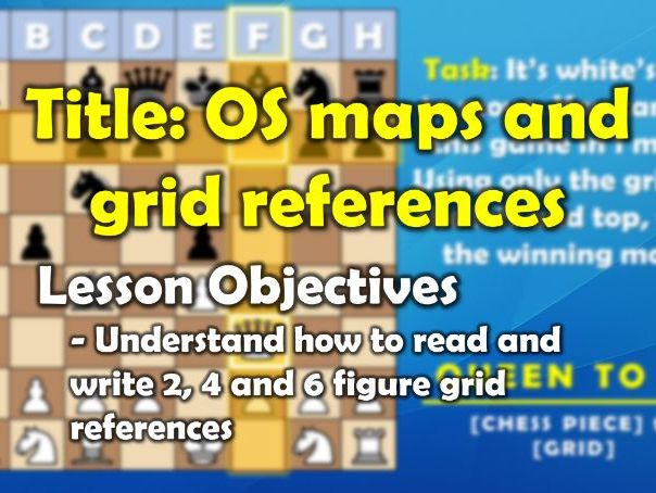 Mapping - 2, 4 and 6 Figure Grid References