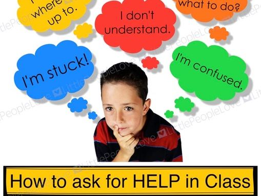 How To Ask For Help In Class