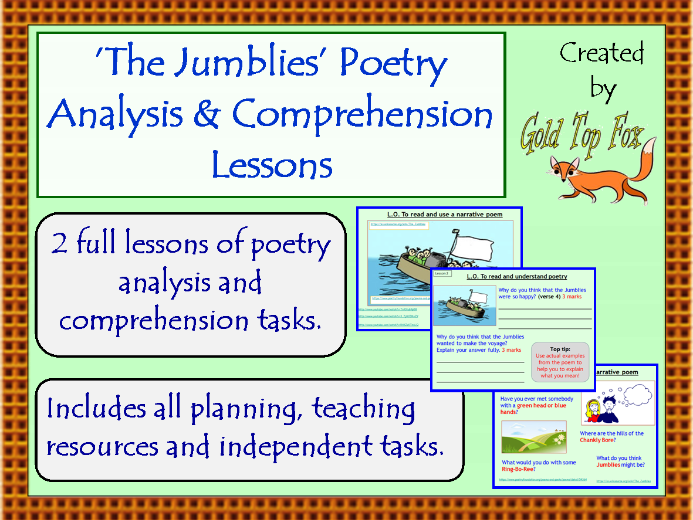 poetry 39 the jumblies 39 analysis and comprehension primary by goldtopfox teaching resources. Black Bedroom Furniture Sets. Home Design Ideas