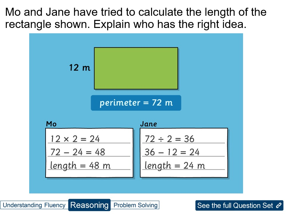 Year 5 Perimeter: Rectilinear Shapes
