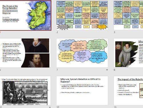 Tudor Rebellions Tyrone Rebellion-Threat