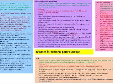 Edexcel History- South Africa essays