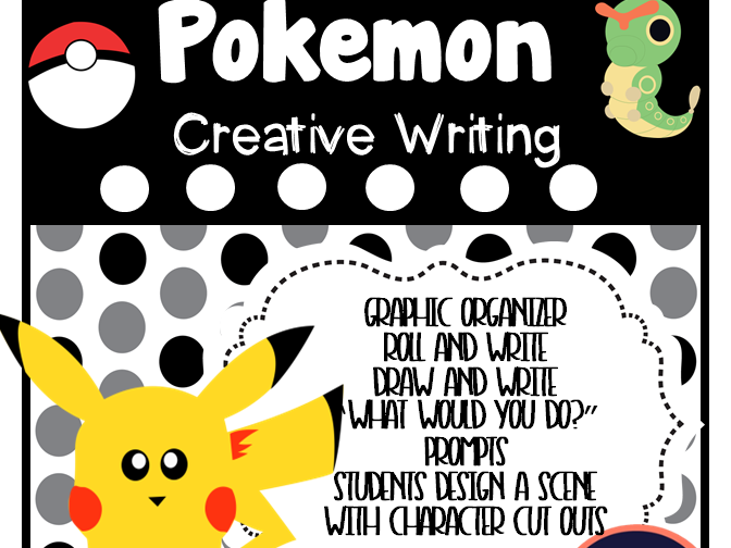 Pokemon Creative Writing - over 35 Pages of Activities