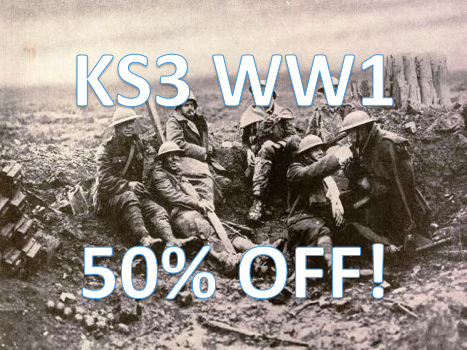 KS3 WW1 bundle