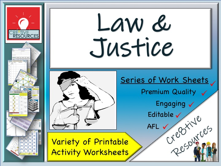 Law + Justice - Work From Home Pack -