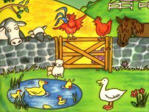 French Farm Animals KS2 Reading and Writing Activity; mild, medium and spicy