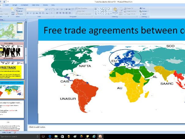 Trade liberalisation, EU and FDI (foreign direct investment) - A level Business / Economics