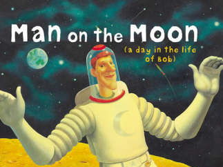 Man On the Moon (A day in the life of Bob) Literacy Activities & KWL grid for Space - Year 3/4 KS2