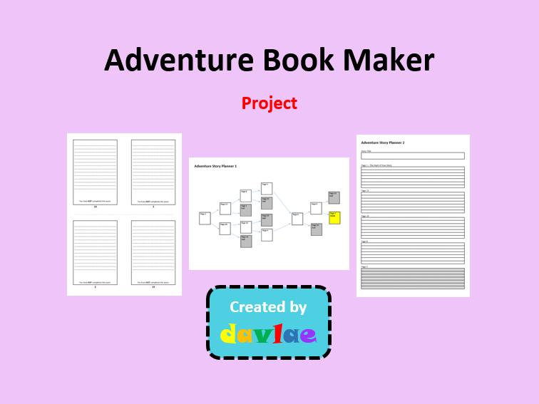 Adventure Book Maker  for KS2